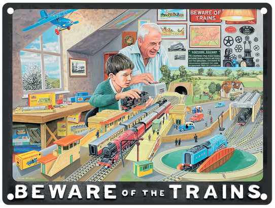 Beware Of The Trains - Black