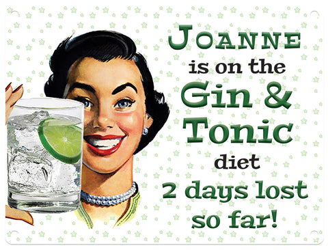 Gin & Tonic Diet - Personalised