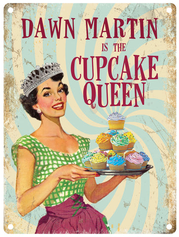 Cupcake Queen - Personalised