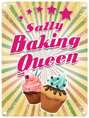 Baking Queen - Personalised