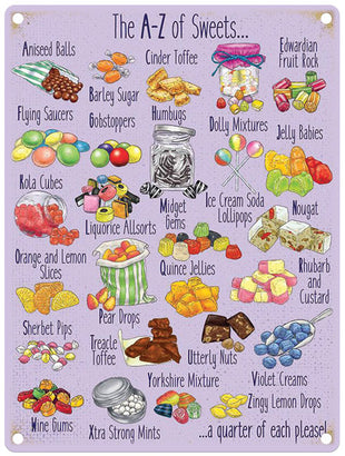 A - Z Sweets