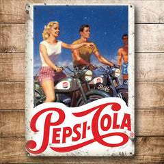 Pepsi Cola - Motorcycles