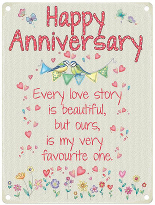 Anniversary Sentiment