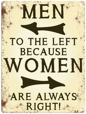 Men To The Left