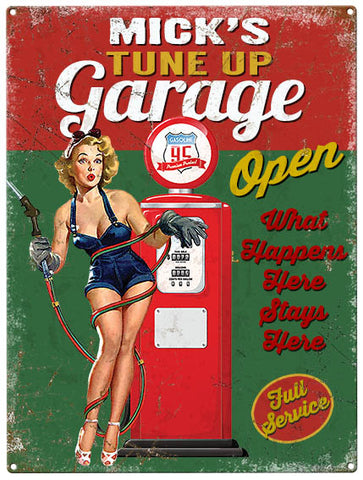 Tune Up Garage - Personalised