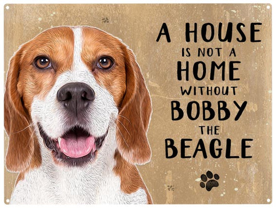 House is not a home - Beagle - Personalised
