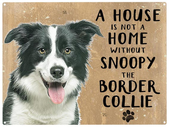 House is not a home - Border Collie - Personalised