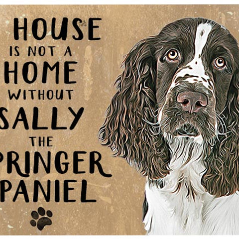 Personalised Pets - Metal Signs
