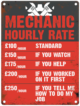 Mechanic Hourly Rate
