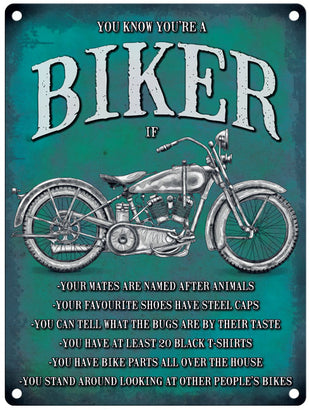 You know you're a biker