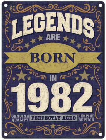 Legends are born in 1982