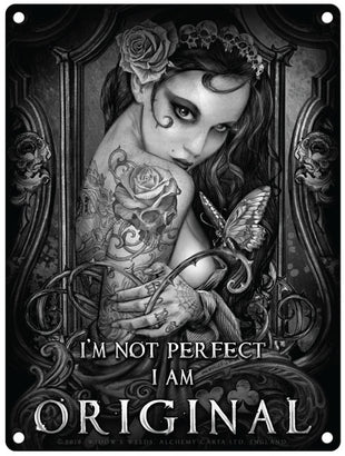 Alchemy I'm not perfect i am original