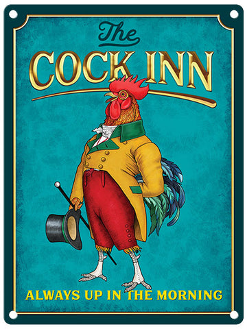 The Cock Inn Pub Sign