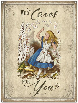 Alice in Wonderland - Who cares for you?