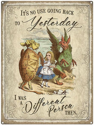 Alice in Wonderland - Different Person Yesterday