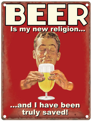 Beer Is My New Religion