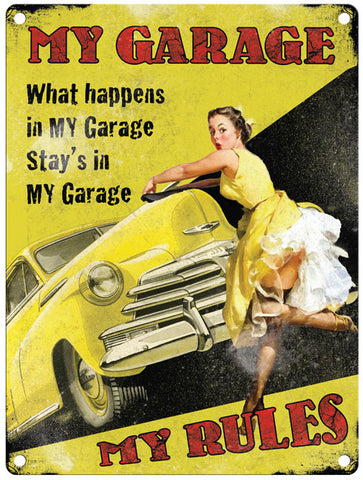 My Garage - My Rules