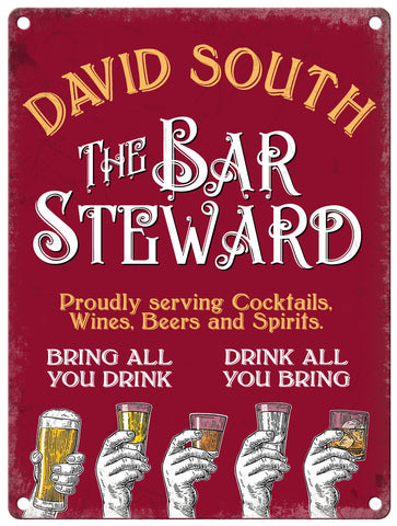 The Bar Steward - Personalised