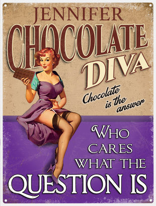 Diva's - Chocolate Diva - Personalised