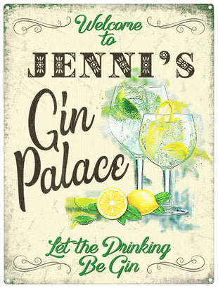 Gin Palace - Personalised