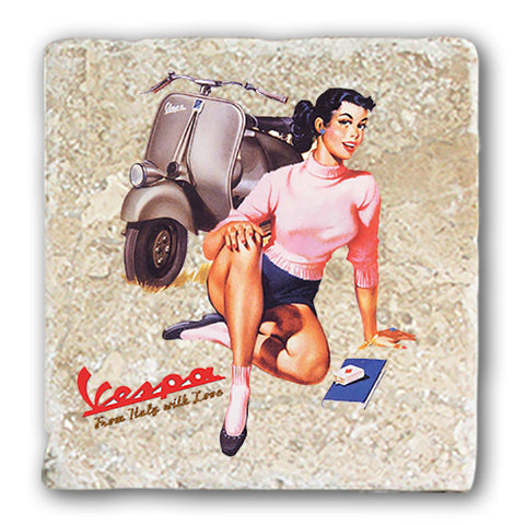 Marble Coaster - Vespa From Italy With Love (Single)