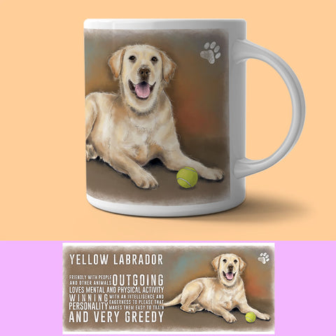 Mug - Yellow Labrador