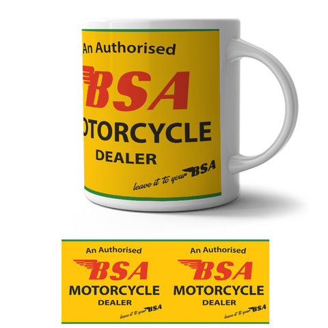 Mug - BSA Motorcycle Dealer