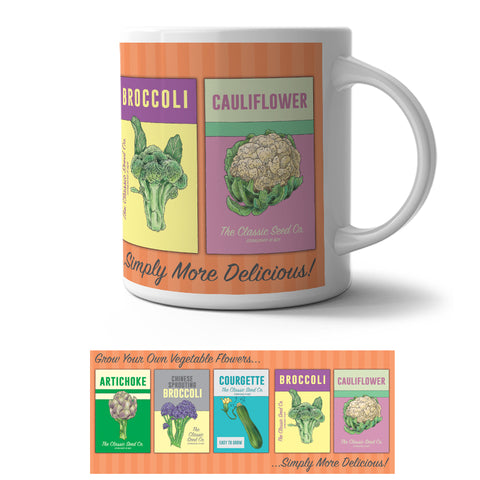 Mug - Grow Your Own Vegetable Flowers