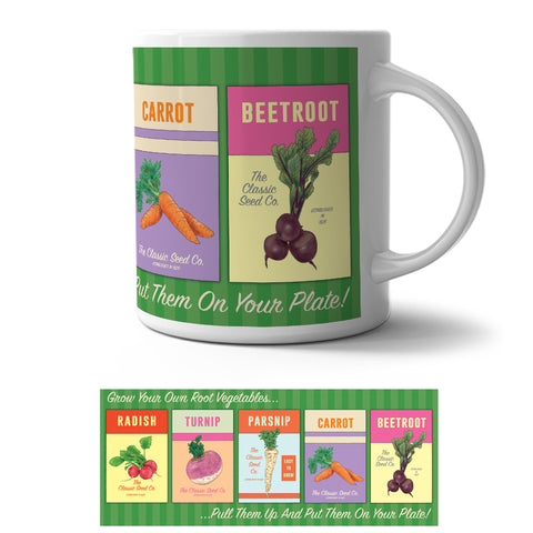 Mug - Grow Your Own Root Vegetables