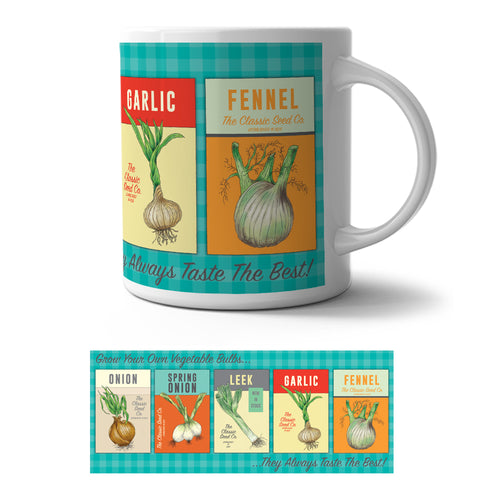 Mug - Grow Your Own vegetable Bulbs