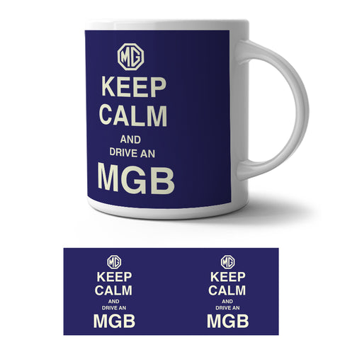 Mug - Keep Calm MGB