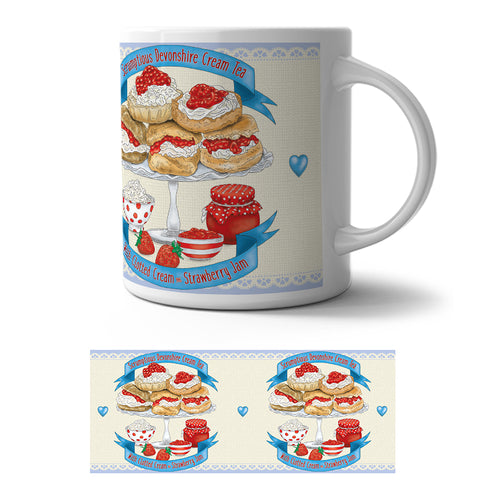 Mug - Devonshire Cream Tea