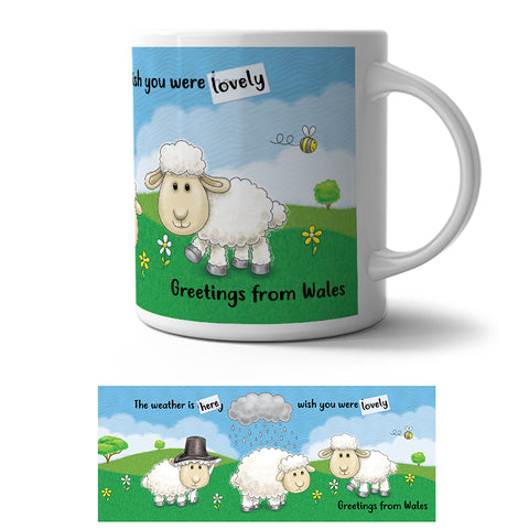 Mug - Greetings from Wales