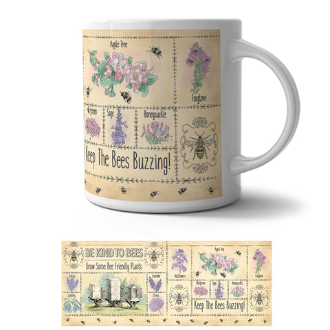 Mug - Be Kind to Bees