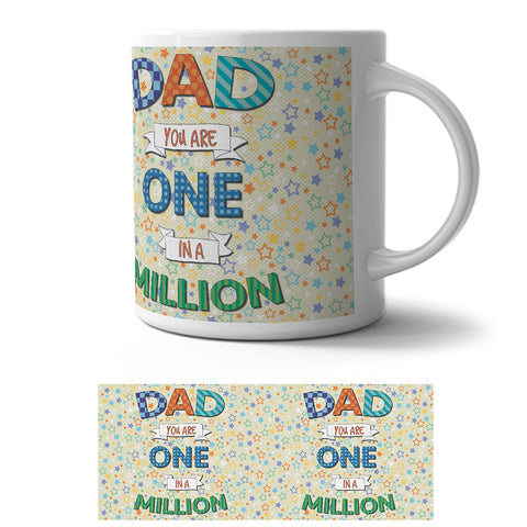 Mug - Dad one in a million
