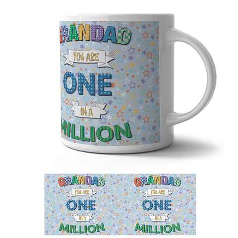 Mug - Grandad one in a million