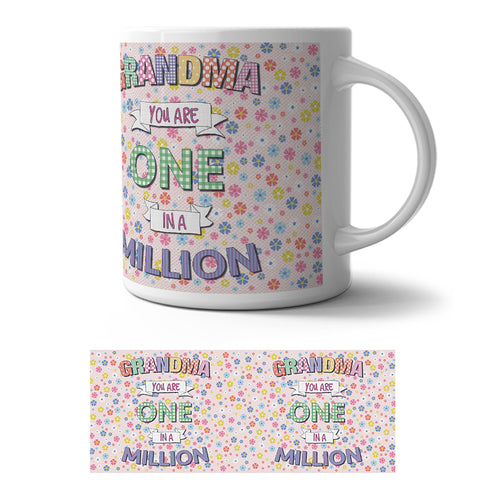Mug - Grandma one in a million