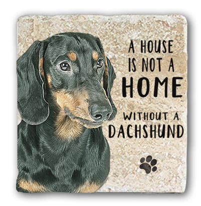 Marble Coaster - Dachshund Marble Coaster (Single)