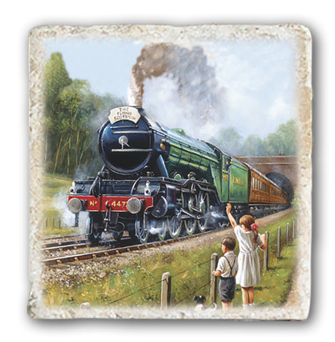 Marble Coaster - Flying Scotsman Marble Coaster (Single)