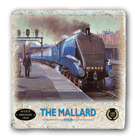 Marble Coaster - The Mallard Marble Coaster (Single)