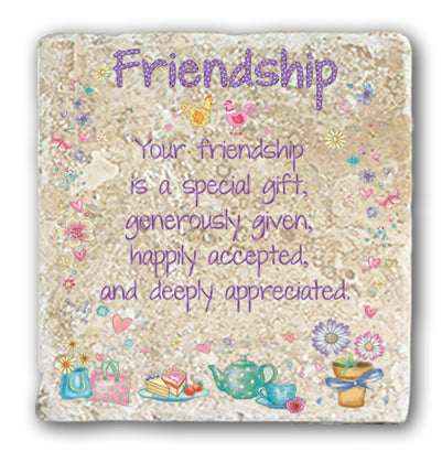 Marble Coaster - Friendship Marble Coaster (Single)