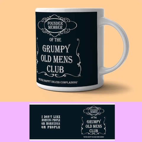 Mug - Grumpy Old Man