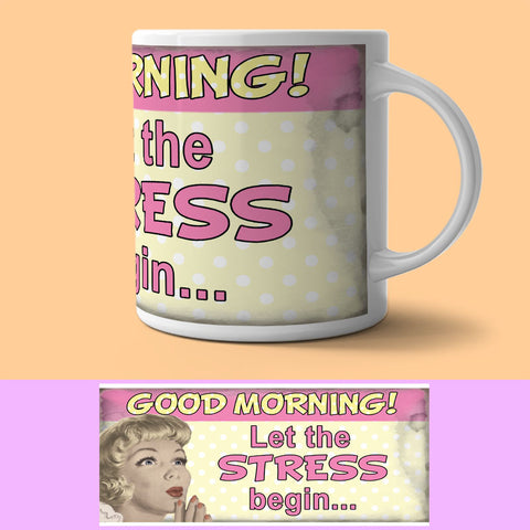 Mug - Let Stress Begin