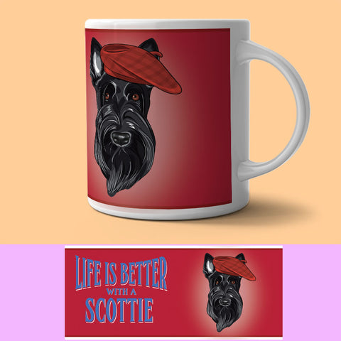 Mug - Life Is Better With A Scottie