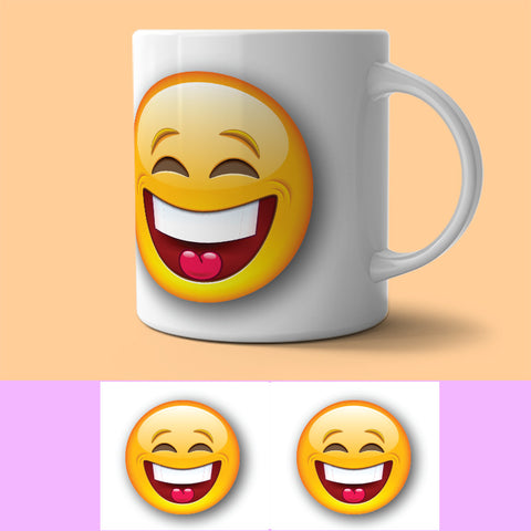 Mug - SMILIE - LAUGHTER