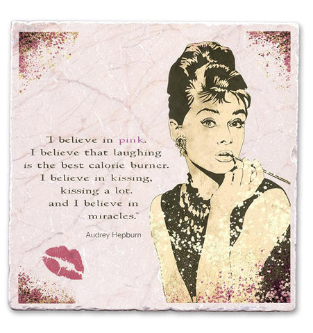 Marble Art Tile - Audrey Believe