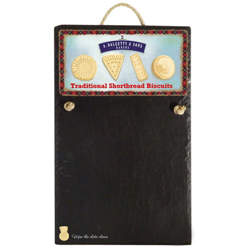 Chalk Board - Traditional Shortbread Biscuits