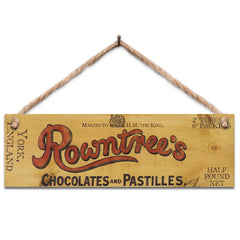 Wooden Sign - Rowntrees