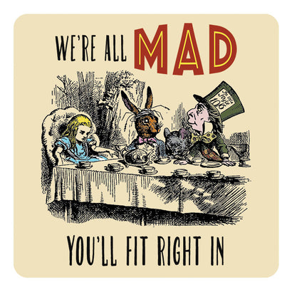 Melamine Coaster - All Mad Coaster