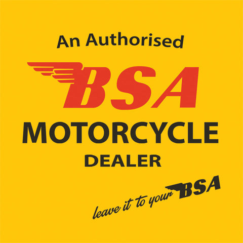 Melamine Coaster - BSA Motorcycle Dealer